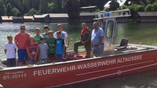 Jugendausflug zur FF Altaussee