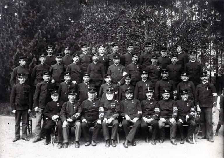 Mannschaftsfoto 1917