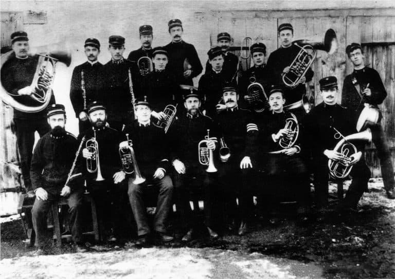 Die Freiwillige Feuerwehrkapelle 1899